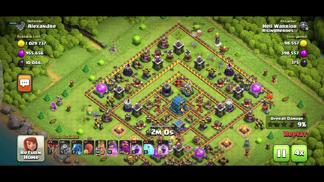 clash of clans 12 million loot on townhall 12,secret tips