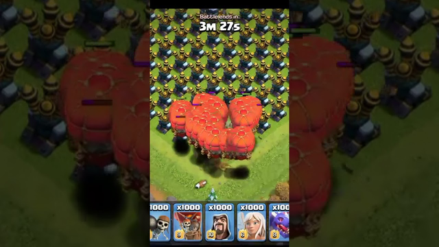 stone slammer Vs Air Defence Clash of clans - Shorts