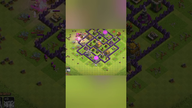 I defend my villlage in clash of clans