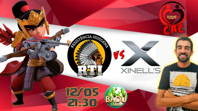 RTI  vs Xinnels | CAC | CLASH OF CLANS