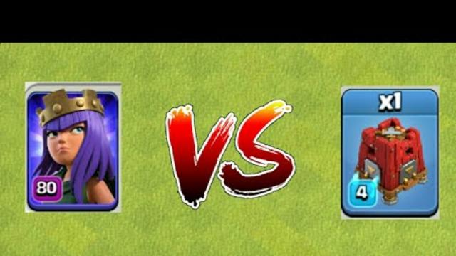 Max archer queen vs max seize barracks    Clash of Clans    #shorts