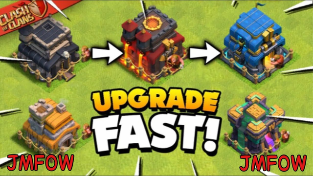 My secrets and tips to upgrading faster in clash of clans | clash of clans tips Ep.4