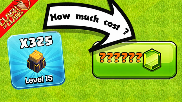 How much worth of gems it cost to make all walls max at Clash of Clans(2021)