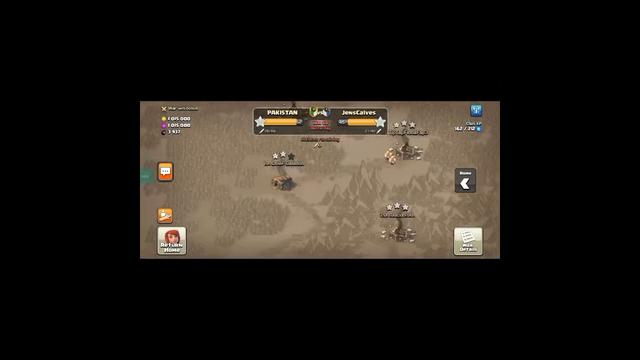 Clan war last half hour in clash of clans#shorts