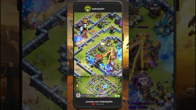 NEW TH14 Base 2021 !! COC Town Hall War Clash of Clans #shorts