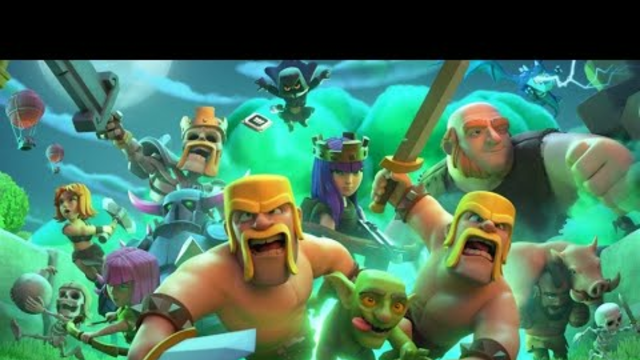 A while later in Clash of Clans...