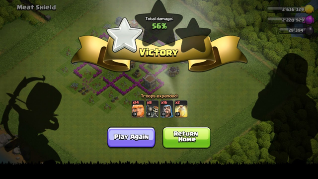 Clash of clans - #4 l Practice attack how to Play perfect l Computer PC Gameplay On Android