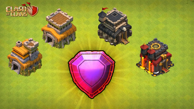 Clash of clans : How to push legend League with th7,th8,th9,th10 in coc