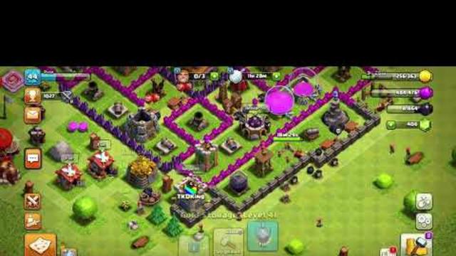 Clash of clans progress #4 th8
