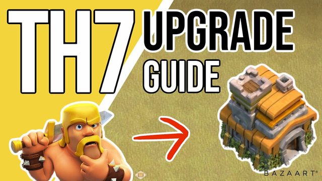 Ultimate TH7 Upgrade Priority Guide (2021)   Clash of Clans TH7 Upgrade Priority Guide for 2021!!