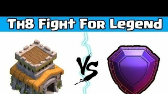 Clash of clans live | Th8 pushing to legend league | Goldpass giveaway and base visit