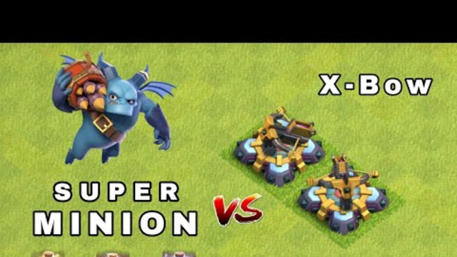 Super Minion Vs X-Bow   clash of clans   coc   clash of clans #coc   #Shorts
