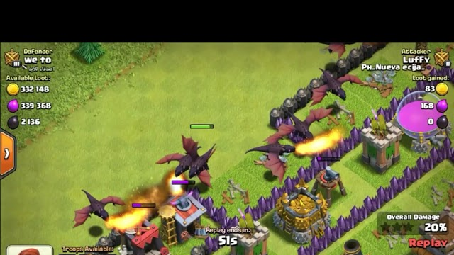 Th7 Dragon Attack 3Star Part4 - Clash of Clans