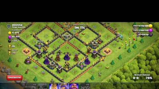 Clash of clans #coc using superminions #minions#clashofclans#supercell#war#attacks#plan#defence#risk