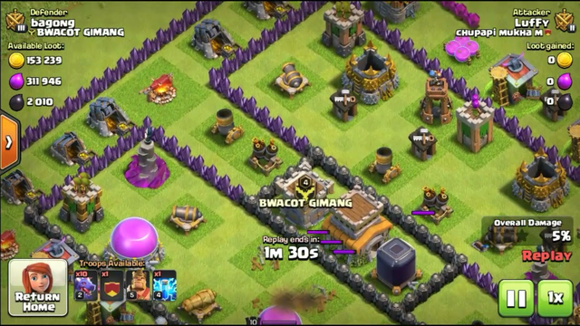 Th7 Dragon Attack 3Star Part7 - Clash of Clans