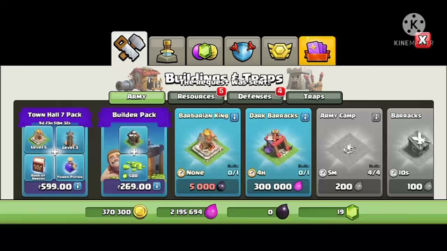 Upgrading to th 7th Clash of Clans