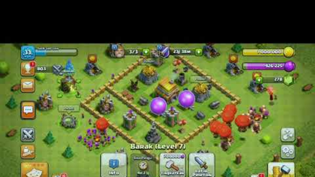 Clash Of Clans (COC) || Town Hall 5 attack