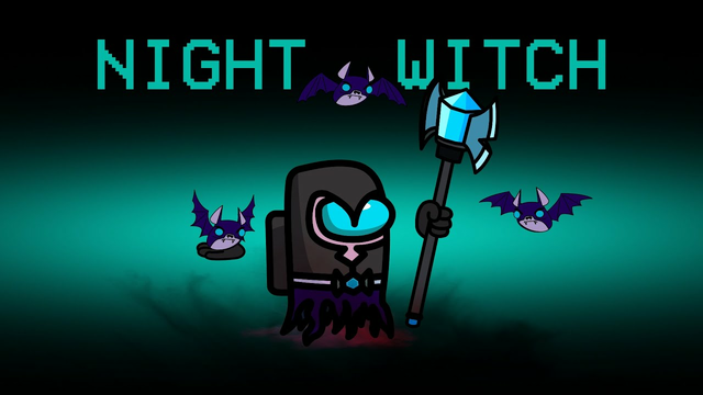 Night Witch Impostor role in Among us | Clash of Clans | Animation