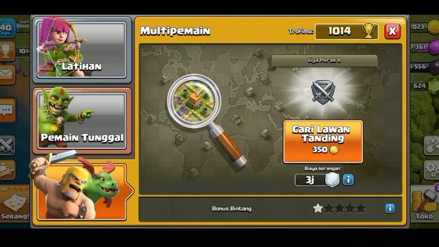 100 Minion cupu clash of Clans