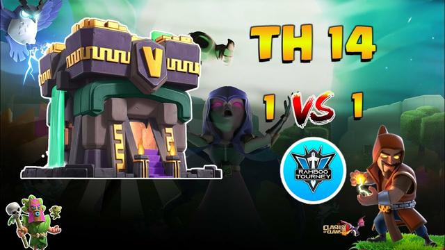 1vs1 | TownHall 14 | Finals | Tournament | Clash of Clans | CoC