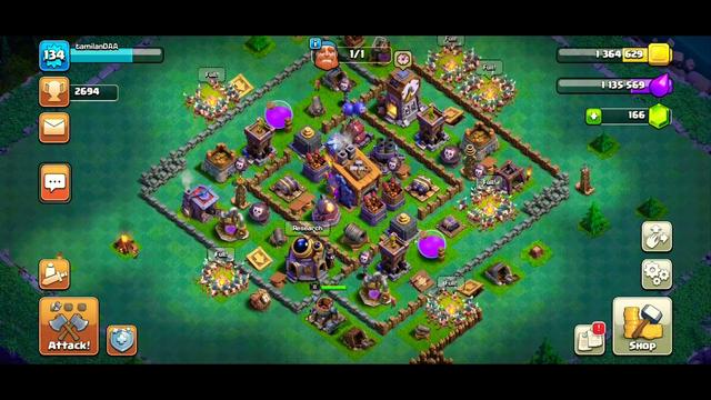 120 barbarian attack | COC | clash of clans | mokka attack |