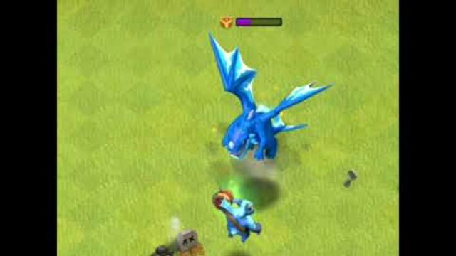 5 Max Level Mega Minions Vs 1 Max Level Electro Dragon l Clash of Clans