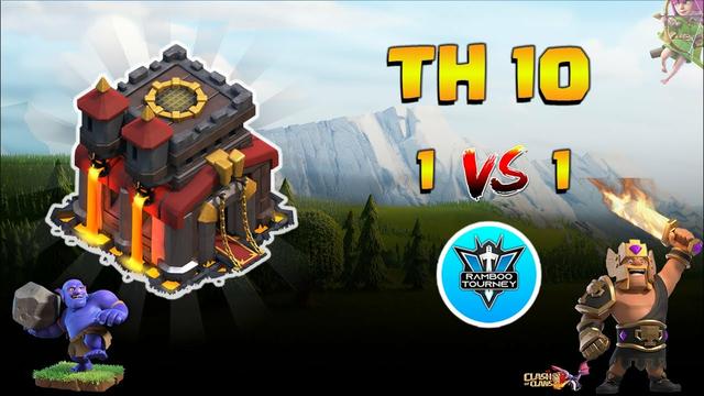 1vs1 | TownHall 10 | Finals | Tournament | Clash of Clans | CoC