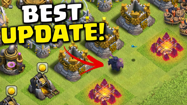 Where is my P.E.K.K.A Going? The most WHOLESOME Update from Clash Of Clans