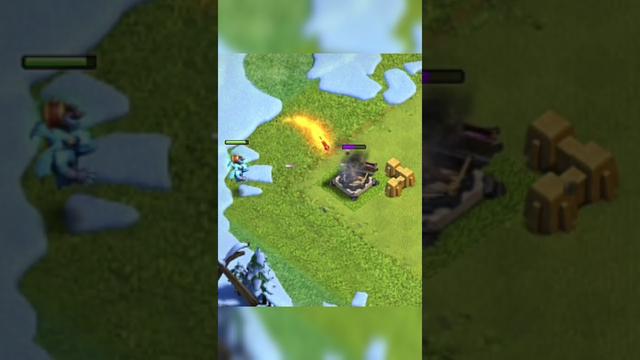 X bow vs super minion ( clash of clans )