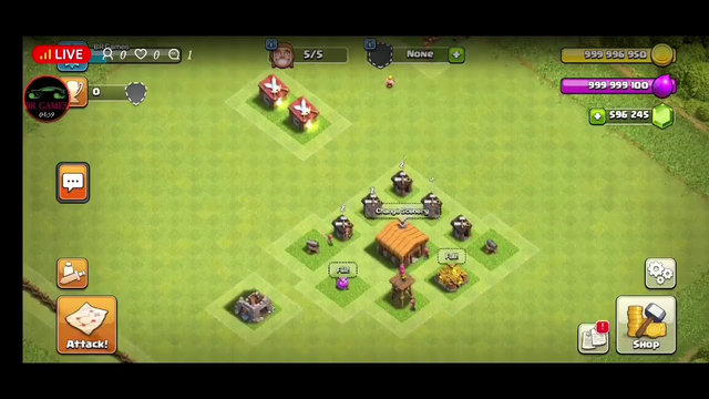 Clash of clans private server unlimited money & access base build