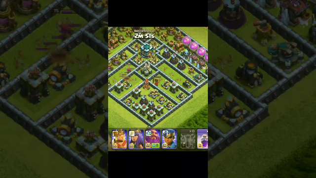 clash of Clans/New update Max dragon with rocket balloons /tg clash of Clans/short#