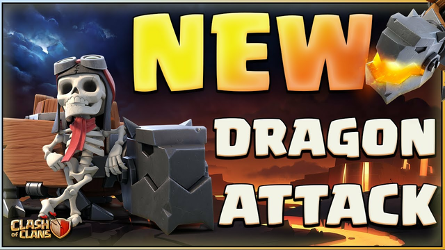 NEW DRAGON RIDERS STRATEGY in Clash of Clans!