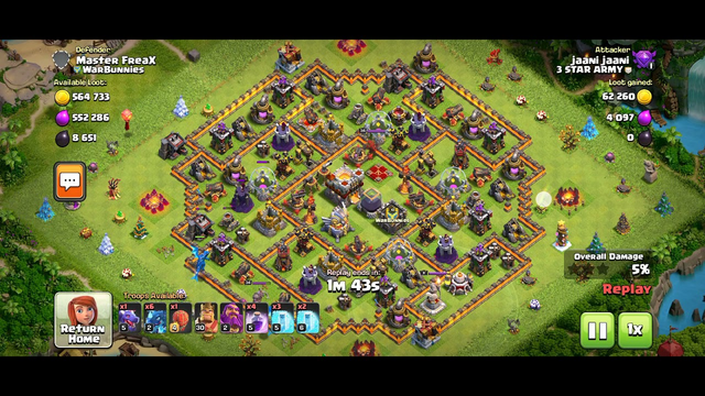 attack th 11 clash of clans