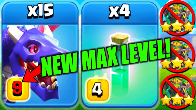 NEW MAX DRAGONS DESTROY TH 14 ! Best New TH14 War Attack Strategy for 3 Stars in Clash of Clans
