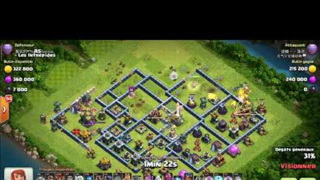 th14 threestars' attack Easy Clash of Clans coc(2)