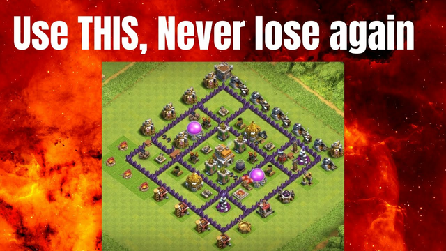 Town Hall 7 Base Design Clash Of Clans (Use THIS, Never Lose Again)