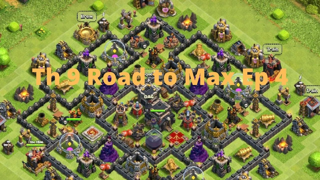 Clash of Clans  Th 9 Road to Max Ep 4
