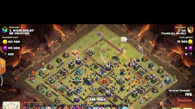 Attacking with 5 super witches || Clash Of Clans || 2021war attack strategy