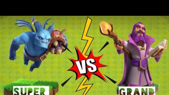 #shorts Super Minion Vs Grand Warden | Max Grand Warden, Max Super Minion #coc