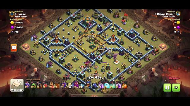 Clash of clans - Dragon Attacks - 3 stars