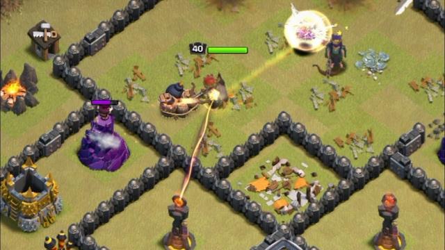 A bit much clutch , Clash of clans