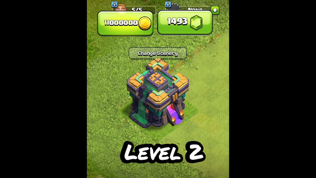Clash Of Clans New Town Hall Level 1 to Max level  upgrade video on MH15 Clash of clans