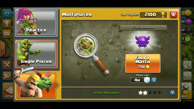 Clash of clans# Compiling Loot