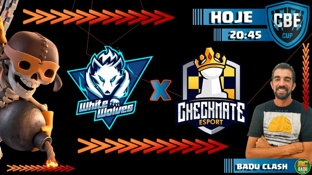 WHITE WOLVES vs CHECKMATE / CBE /CLASH OF CLANS