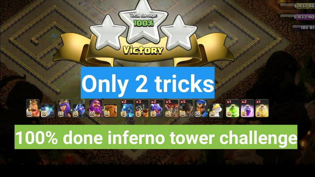 Inferno Town Challenge Clash of Clans - COC Easily 3 Star the Inferno Town Challenge Clash of Clans