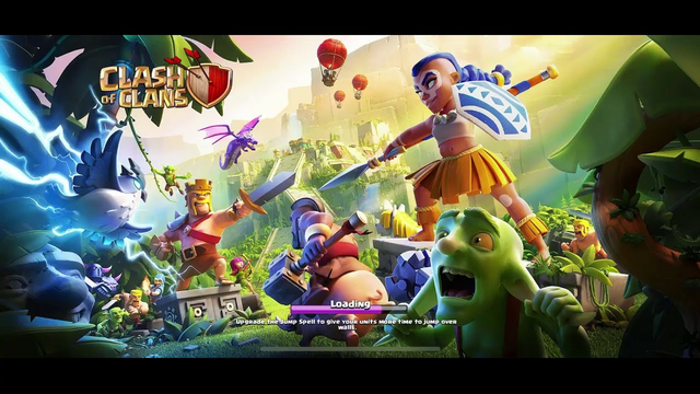 Clash of clans gameplay. Trialing Streamlabs