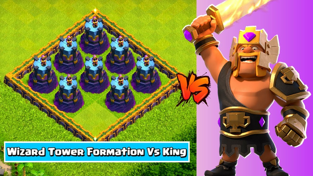 #Shorts || Barbarian King Vs Cannon Formation - COC || Clash of clans || Indian Gamer