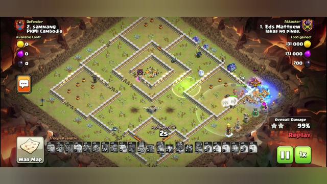 #Clash of Clans. #Clan War Perfecr Score.#Best Attacks