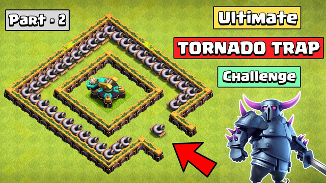 Ultimate TORNADO STORM challenge with Scattershot | Clash of Clans
