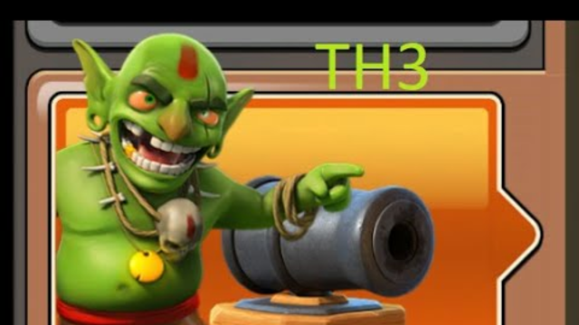 How to defeat Goblin map Triple A Clash of Clans Th3